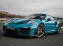 Фото авто Porsche 911 991 [рестайлинг], ракурс: 45 цвет: аквамарин