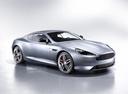 Фото авто Aston Martin DB9 1 поколение [2-й рестайлинг], ракурс: 315 цвет: серый
