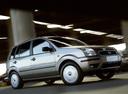 Фото авто Ford Fusion 1 поколение, ракурс: 315 цвет: серебряный