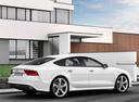 Фото авто Audi RS 7 4G, ракурс: 225 цвет: белый