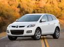 Фото авто Mazda CX-7 1 поколение, ракурс: 45 цвет: белый