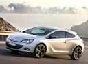 Фото авто Opel Astra J [рестайлинг], ракурс: 45 цвет: белый