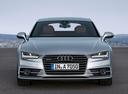 Фото авто Audi A7 4G [рестайлинг],  цвет: серебряный
