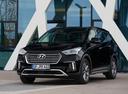 Фото авто Hyundai Santa Fe DM [рестайлинг], ракурс: 45 цвет: черный