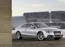 Фото авто Audi S5 8T [рестайлинг], ракурс: 315 цвет: серебряный