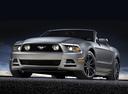 Фото авто Ford Mustang 5 поколение [2-й рестайлинг], ракурс: 45 цвет: серый
