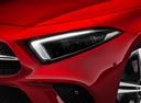 Фото авто Mercedes-Benz CLS-Класс C257, ракурс: передние фары цвет: красный