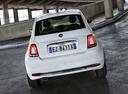 Фото авто Fiat 500 2 поколение [рестайлинг], ракурс: 180 цвет: белый