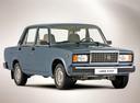 Фото авто ВАЗ (Lada) 2107 1 поколение, ракурс: 315 - рендер цвет: синий