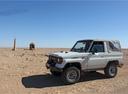 Фото авто Toyota Land Cruiser J70, ракурс: 90