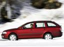 Фото авто Skoda Octavia 2 поколение, ракурс: 270 цвет: красный