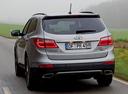 Фото авто Hyundai Santa Fe DM, ракурс: 180 цвет: серебряный