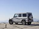 Фото авто Mercedes-Benz G-Класс W463 [3-й рестайлинг], ракурс: 135 цвет: серебряный