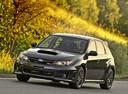 Фото авто Subaru Impreza 3 поколение [рестайлинг], ракурс: 45 цвет: черный
