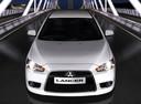Фото авто Mitsubishi Lancer X [рестайлинг],  цвет: белый