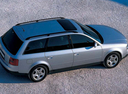 Фото авто Audi A6 4B/C5, ракурс: 270 цвет: серебряный