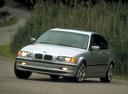 Фото авто BMW 3 серия E46, ракурс: 45 цвет: серебряный