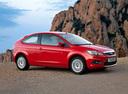 Фото авто Ford Focus 2 поколение [рестайлинг], ракурс: 315 цвет: красный