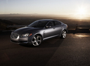 Фото авто Jaguar XF X250, ракурс: 45 цвет: серый