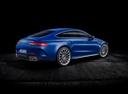 Фото авто Mercedes-Benz AMG GT C190 [рестайлинг], ракурс: 225 цвет: синий