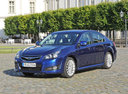 Фото авто Subaru Legacy 5 поколение, ракурс: 45 цвет: синий