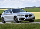 Фото авто BMW 1 серия F20/F21 [рестайлинг], ракурс: 315 цвет: серебряный