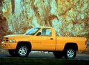 Фото авто Dodge Ram 2 поколение, ракурс: 45 цвет: желтый