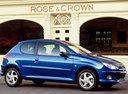 Фото авто Peugeot 206 1 поколение [рестайлинг], ракурс: 270 цвет: синий