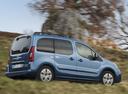 Фото авто Citroen Berlingo 2 поколение [2-й рестайлинг], ракурс: 225 цвет: голубой