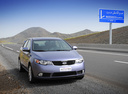 Фото авто Kia Cerato 2 поколение, ракурс: 315 цвет: серый