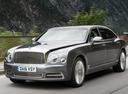 Фото авто Bentley Mulsanne 2 поколение [рестайлинг], ракурс: 45 цвет: синий