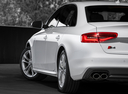 Фото авто Audi S4 B8/8K [рестайлинг], ракурс: задняя часть