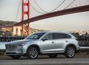 Фото авто Mazda CX-9 2 поколение, ракурс: 45 цвет: серый