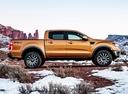 Фото авто Ford Ranger 4 поколение [2-й рестайлинг], ракурс: 270 цвет: оранжевый