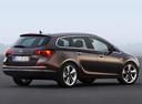 Фото авто Opel Astra J [рестайлинг], ракурс: 225 цвет: коричневый
