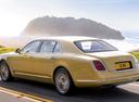 Фото авто Bentley Mulsanne 2 поколение [рестайлинг], ракурс: 135 цвет: золотой