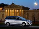 Фото авто Mazda 5 CW, ракурс: 270 цвет: серебряный