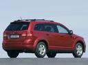 Фото авто Dodge Journey 1 поколение, ракурс: 225 цвет: красный