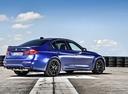 Фото авто BMW M3 F80 [рестайлинг], ракурс: 225 цвет: синий