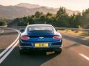 Фото авто Bentley Continental GT 3 поколение, ракурс: 180 цвет: голубой