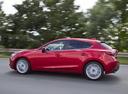 Фото авто Mazda 3 BM, ракурс: 90 цвет: красный