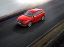 Фото авто Audi SQ5 2 поколение, ракурс: сверху цвет: красный