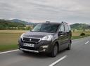 Фото авто Peugeot Partner 2 поколение [2-й рестайлинг], ракурс: 45 цвет: коричневый