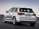 Фото авто Audi A3 8V, ракурс: 135 цвет: серебряный