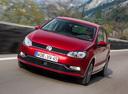 Фото авто Volkswagen Polo 5 поколение [рестайлинг],  цвет: красный