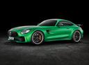 Фото авто Mercedes-Benz AMG GT C190 [рестайлинг], ракурс: 45 цвет: зеленый