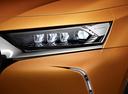 Фото авто DS 7 1 поколение, ракурс: передние фары цвет: бронзовый