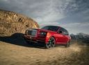Фото авто Rolls-Royce Cullinan 1 поколение, ракурс: 45 цвет: красный