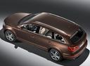 Фото авто Audi Q7 4L [рестайлинг], ракурс: сверху цвет: коричневый