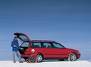 Фото авто Volkswagen Passat B5, ракурс: 225 цвет: красный